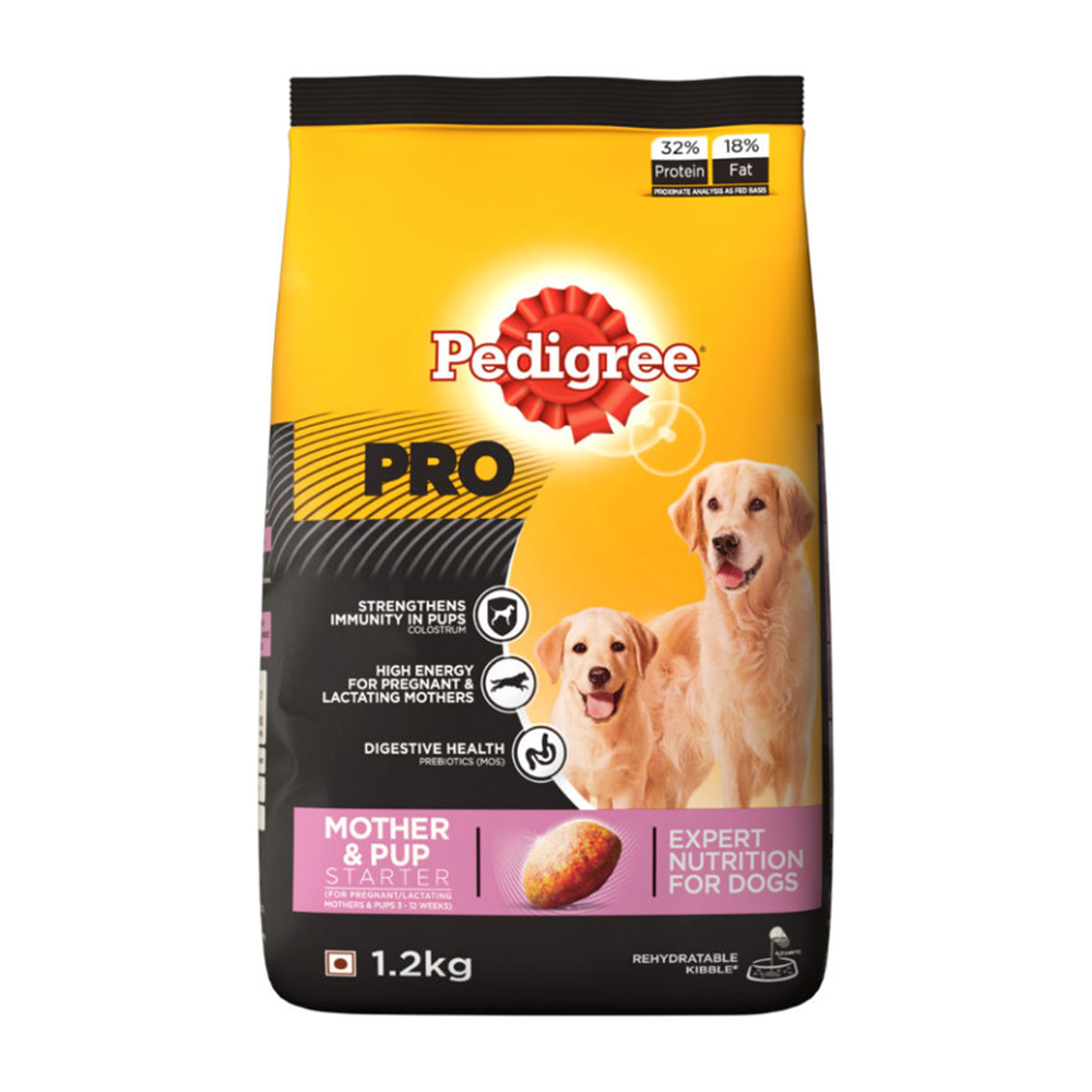Pedigree Pro Mother & Pup Starter Dry Food | Multiple Sizes |