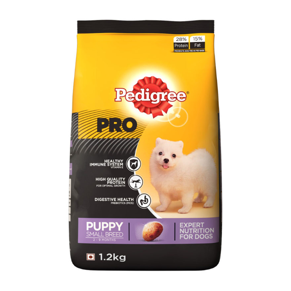 Pedigree Pro Puppy Small Breed Dry Food| 3 KG
