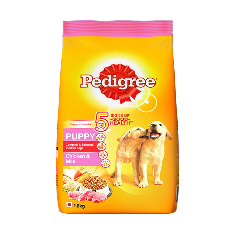 Pedigree Puppy Chicken and Milk Flavor Dry Food | Multiple Sizes |