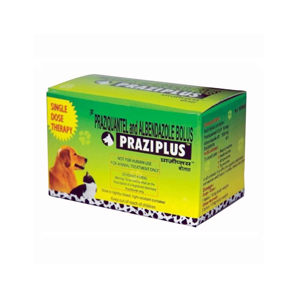 Pet Care Praziplus Deworming Tablets | Dogs and Cats |10 Tablets