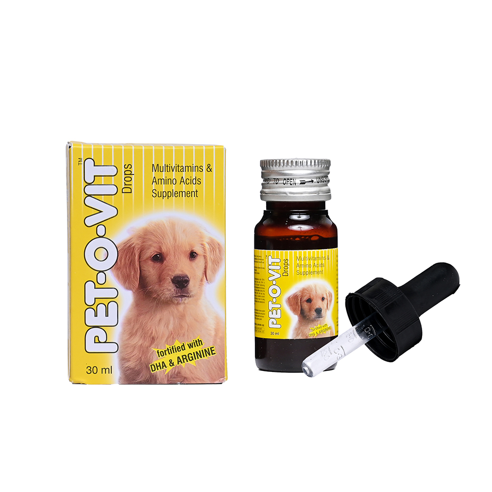 Ek Tek Pet O Vit Multivitamins Drops | 30 ML