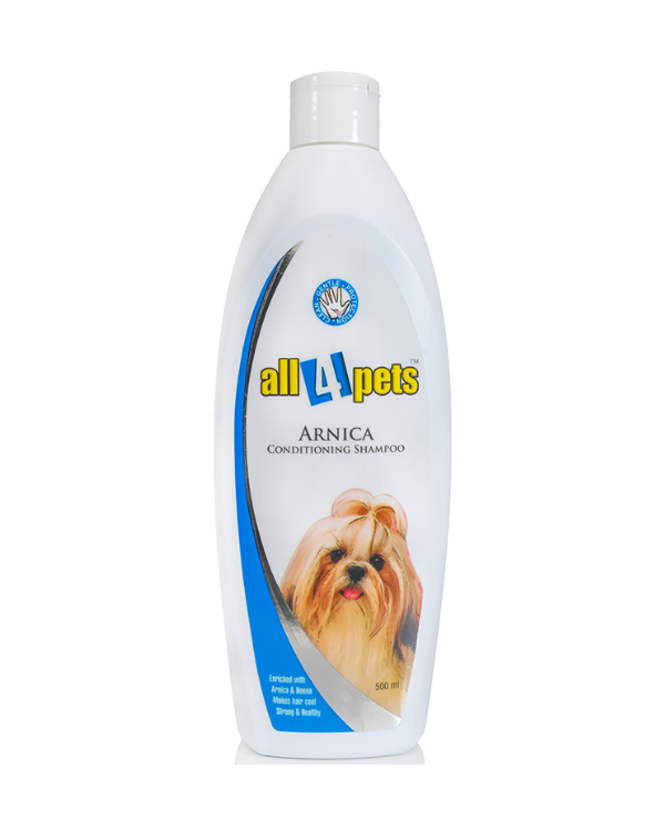 All 4 Pets Arnica Conditioning Shampoo | Pets | Multiple Sizes |