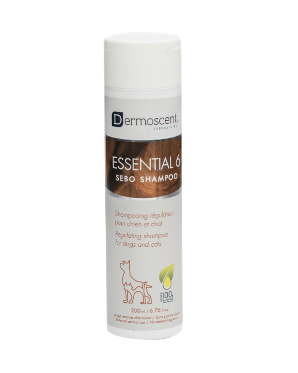 Dermoscent Essential 6 Sebo Shampoo| Dogs and Cats | Multiple Sizes |