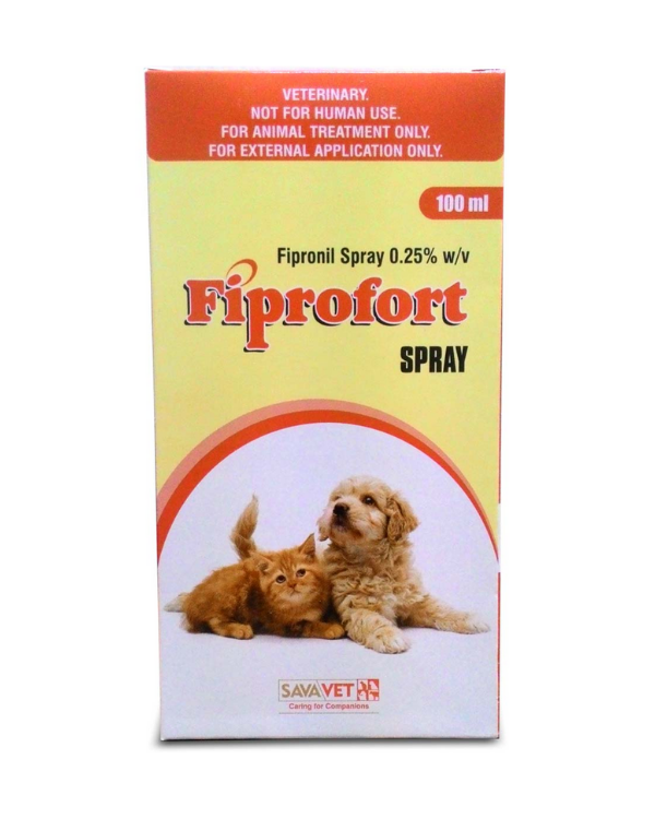 Fiprofort Spray To Control Tick and Flea in Dogs 100 ml