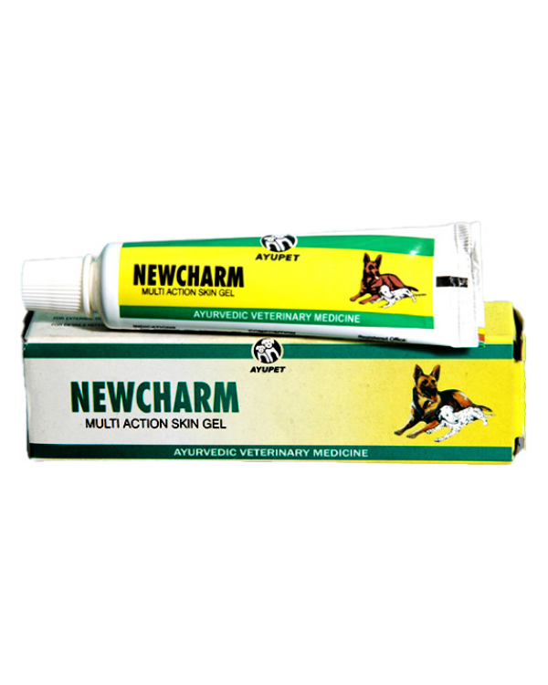 Ayupet Newcharm Multi Action Skin Gel | Dogs | 25 GM