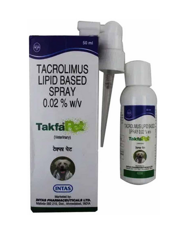 Intas Takfa Pet Dog Spray| 50 ML