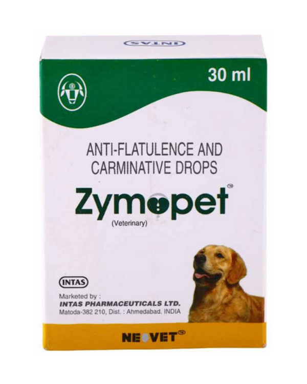 Intas Zymopet Drops | Dogs | 30 ML
