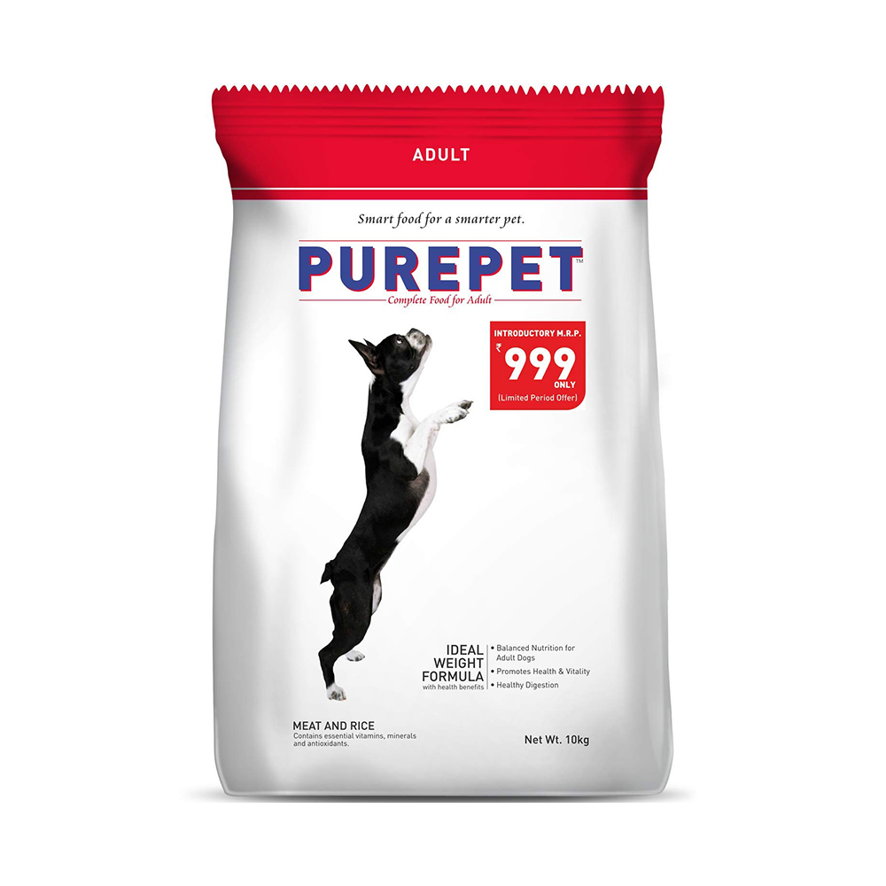 Purepet Adult Meat and Rice Flavor | 17.25 KG