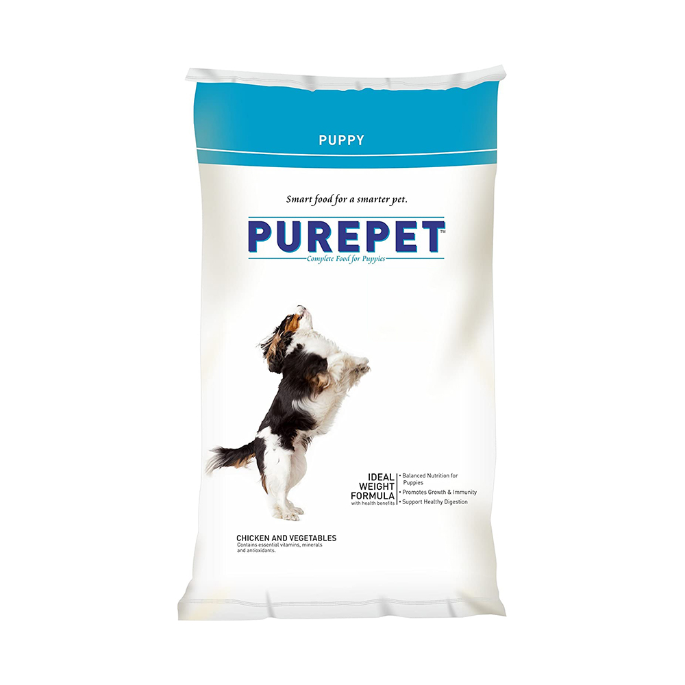 Purepet Puppy Chicken and Vegetables Flavor | Multiple Sizes |