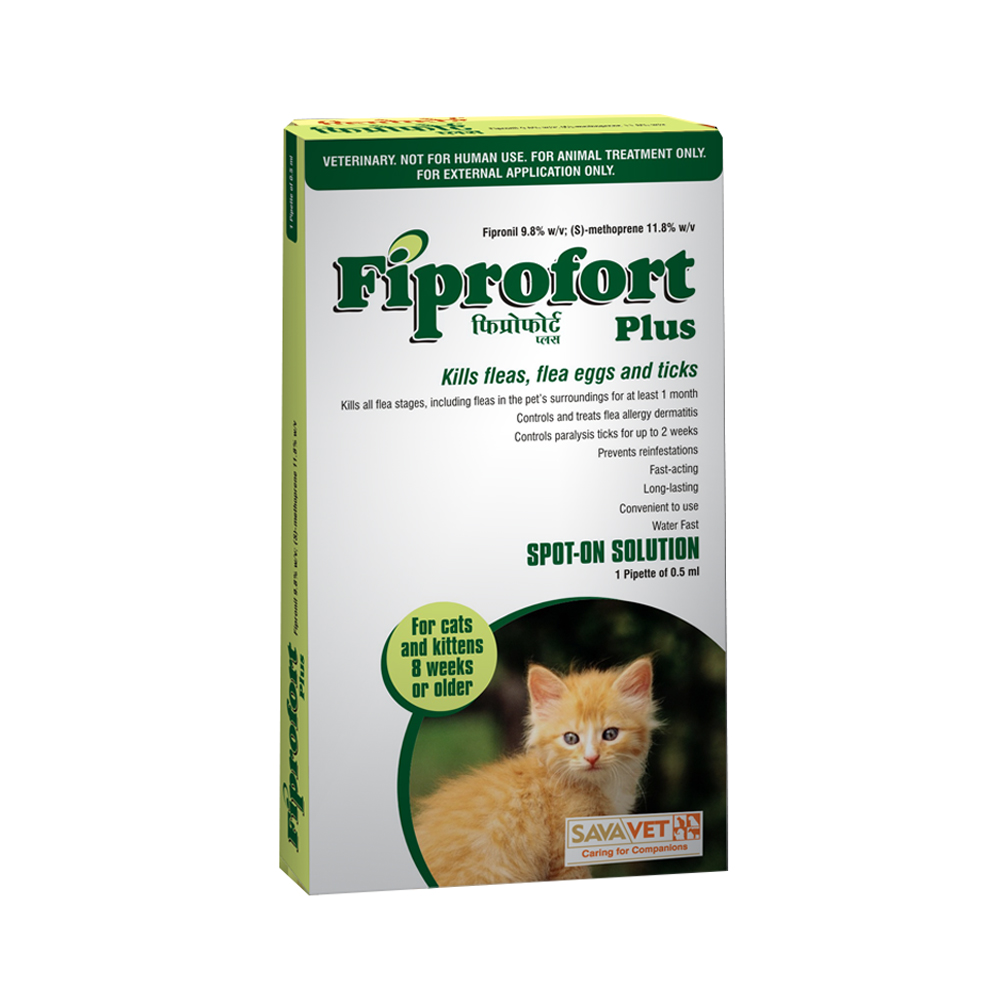 Savavet Fiprofort Plus Spot On | Cats | 0.5 ML