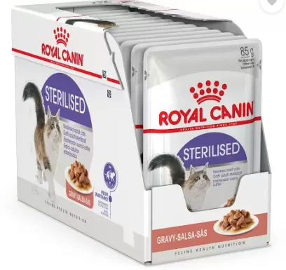 Royal Canin Food for Sterilised Cats 85 g