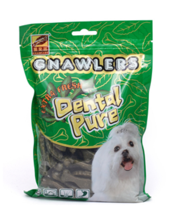 Gnawlers Dental Pure Medium Dog Treat |  90 GM
