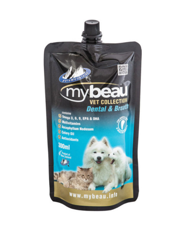 Mybeau - Vet Collection Dental & Breath | Dogs and Cats | 300 ML