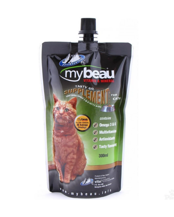 Mybeau - Vitamin & Mineral Supplement | Cats | 300 ML