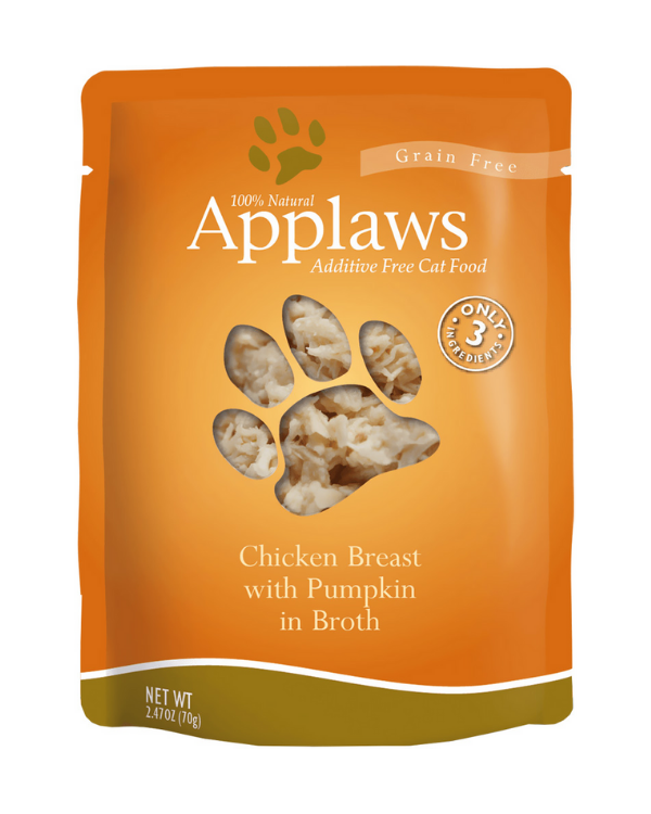 Applaws Chicken Breast with Pumpkin Pouch | 70 GM