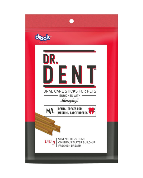 Drools Dr. Dent Oral Care Sticks for Pets 150GM