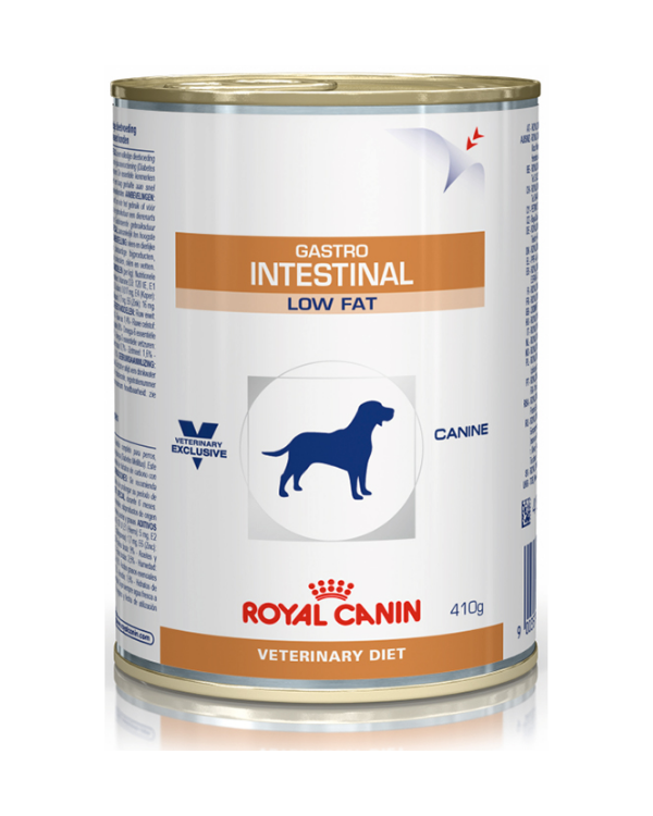 Royal Canin Gastro Intestinal Low Fat Tin Dog Wet Food | 410 GM