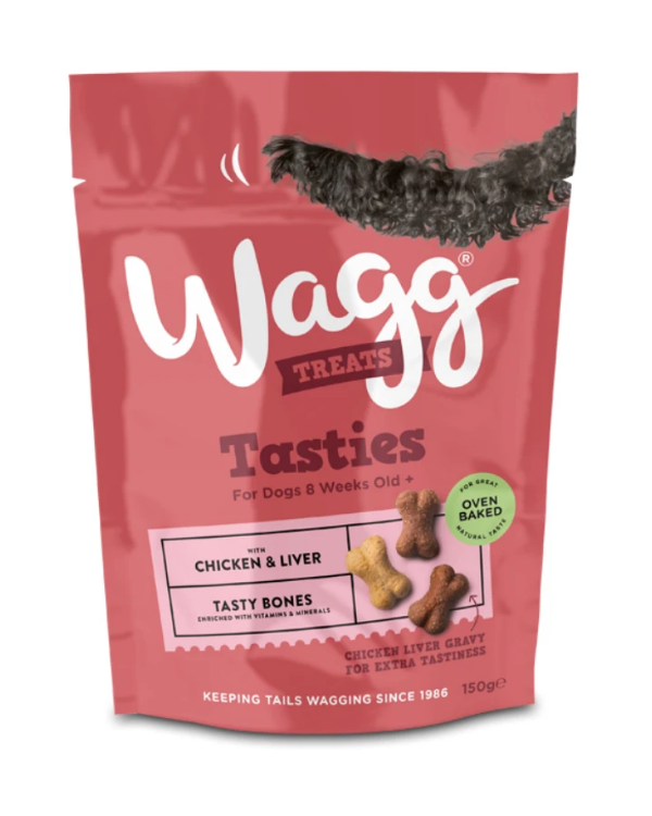 Wagg Treats Tasties with Chicken & Liver