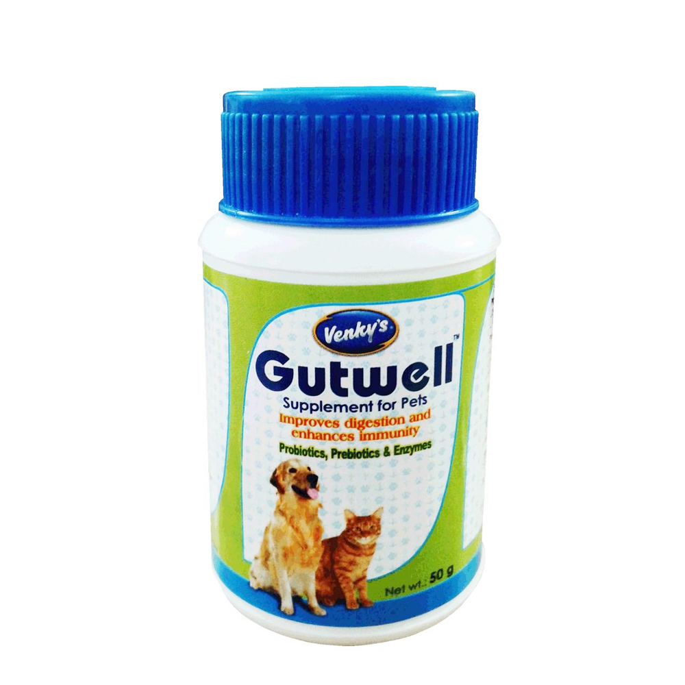 Venky's Gutwell Powder | Dogs and Cats | 50 GM