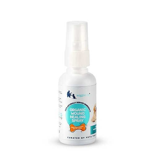 Wiggles Organic Wound Healing Spray 50ml